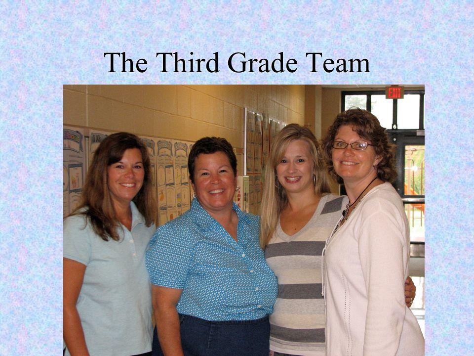 The Third Grade Team