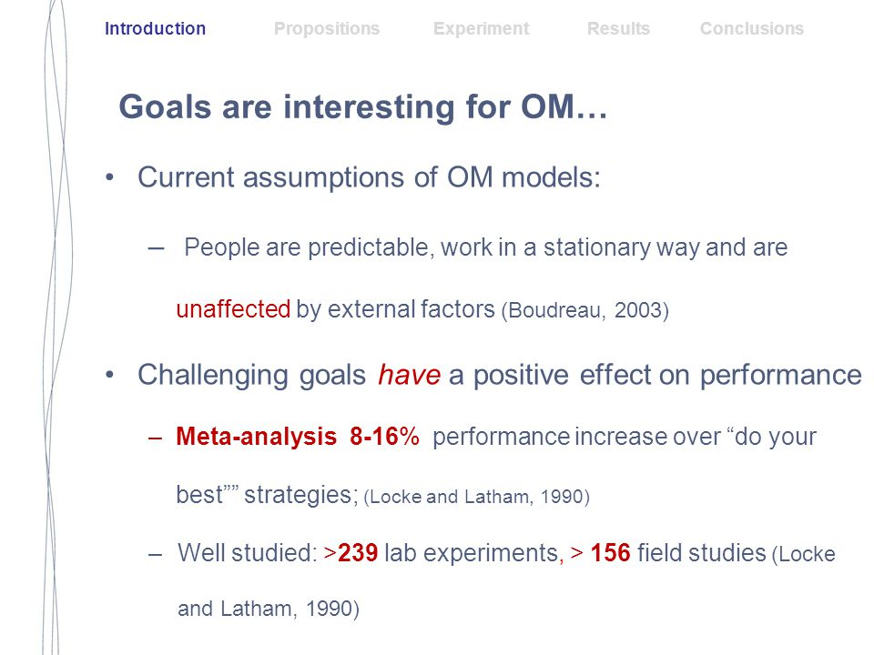 Prospect theory for goals! Extra Results