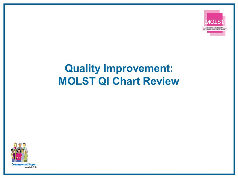 Quality Improvement: MOLST QI Chart Review