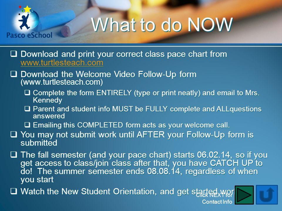 What to do NOW DDDDownload and print your correct class pace chart from wwww wwww wwww.... tttt uuuu rrrr tttt llll eeee ssss tttt eeee aaaa cccc