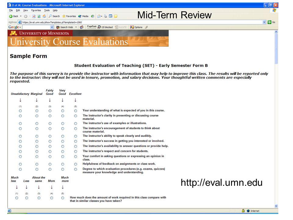 21 MOT 8221 Mid- Semester Review
