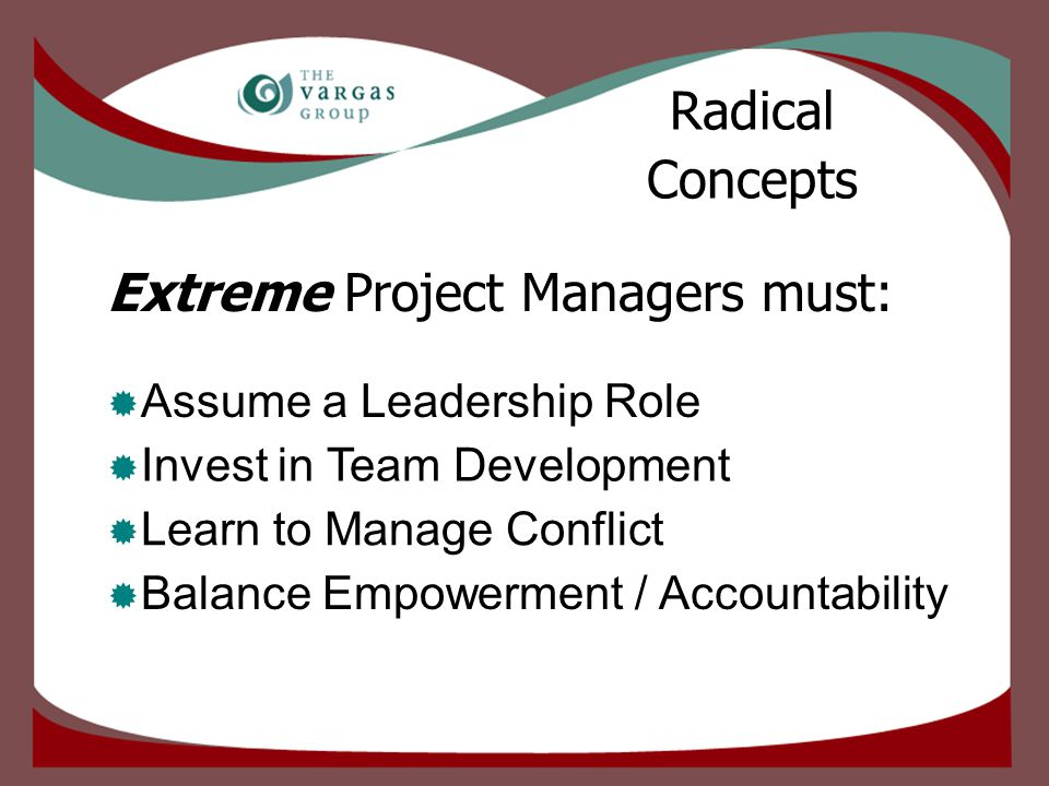  Prepare for it Manage Conflict Minimize and Neutralize Conflict  Throw a PARTY.