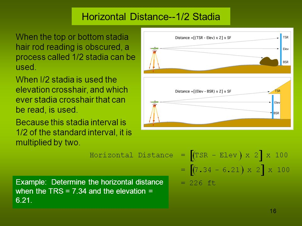 17 Distance Measuring Methods--EDM EDM = Electronic Distance Measuring The term EDM is used to describe a category of instruments that measure distance using an electronic signal.
