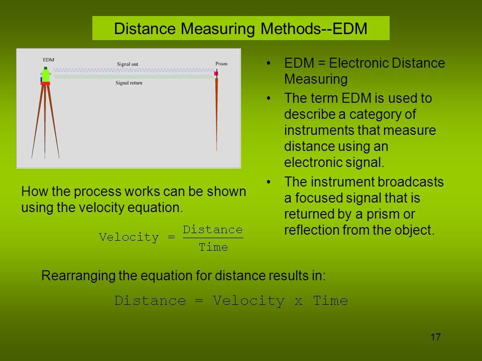 18 Distance Measuring Methods--EDM~cont.