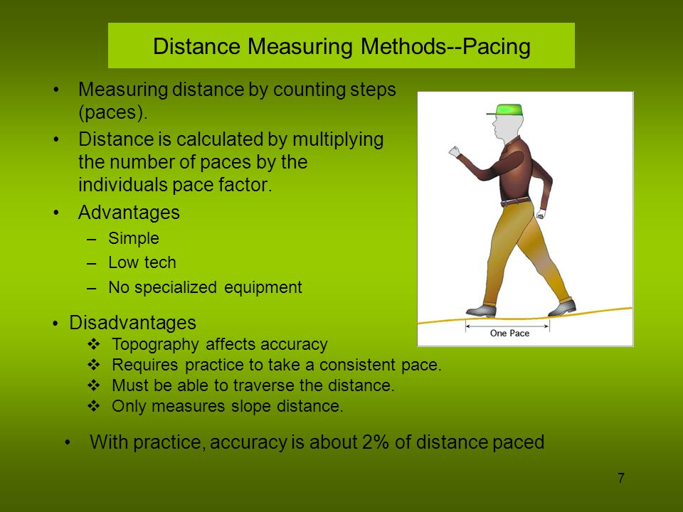 8 Distance Measuring Methods--Odometer Wheel An odometer is a mechanical revolution counter.