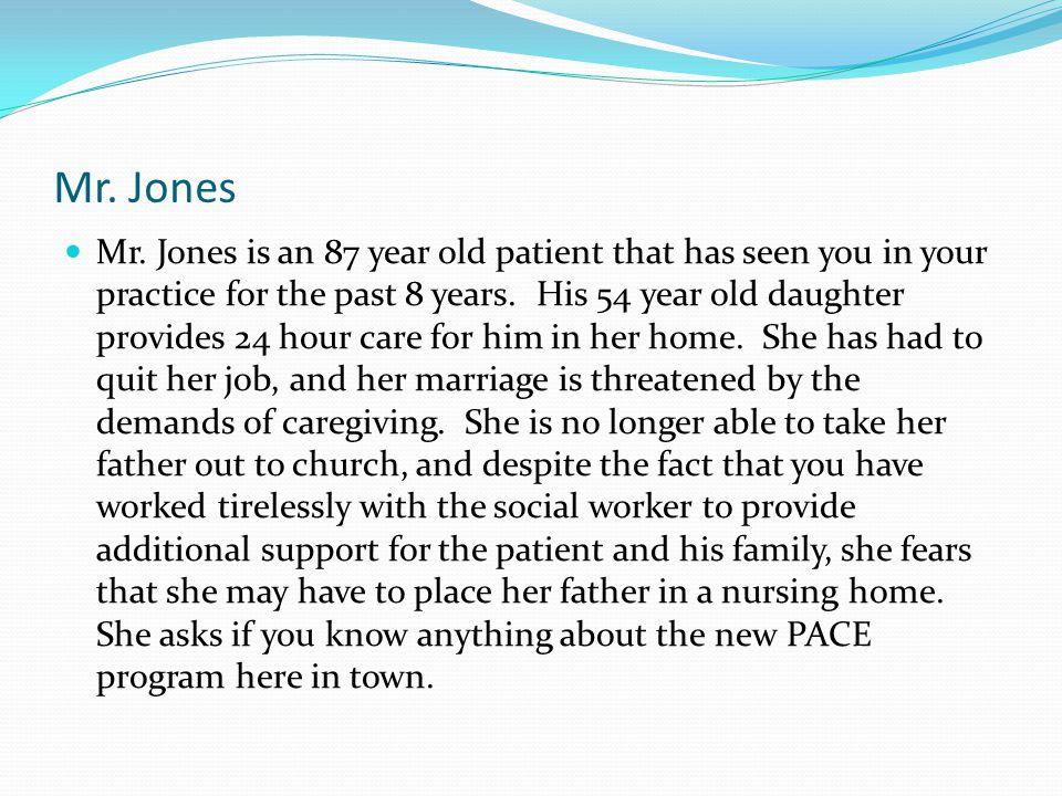 Mr. Jones Mr.