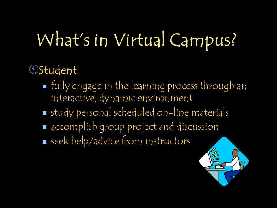 What's in Virtual Campus.