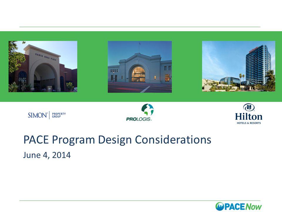 A PACE Program Design Considerations June 4, 2014