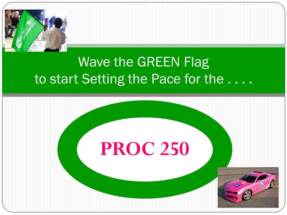 Questions? PROC 250