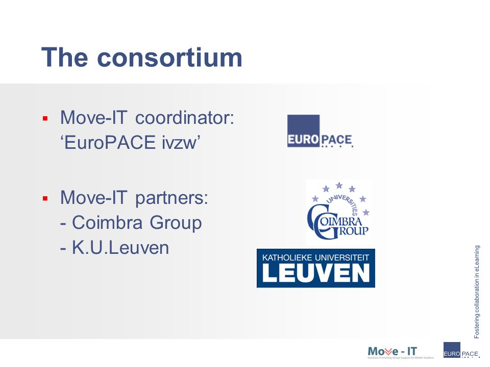 Projects on Virtual and Blended Mobility