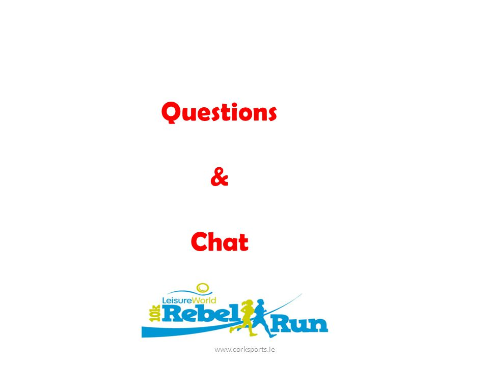 Questions & Chat www.corksports.ie