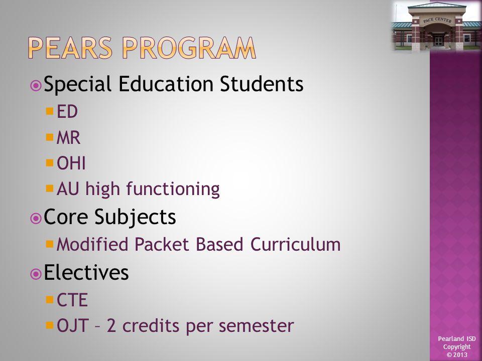 Pearland ISD Copyright © 2013  Principal  Assistant Principal  Counselor  Campus Secretary  Registrar  Receptionist/Attendance Clerk