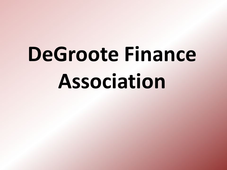 DeGroote Finance Association