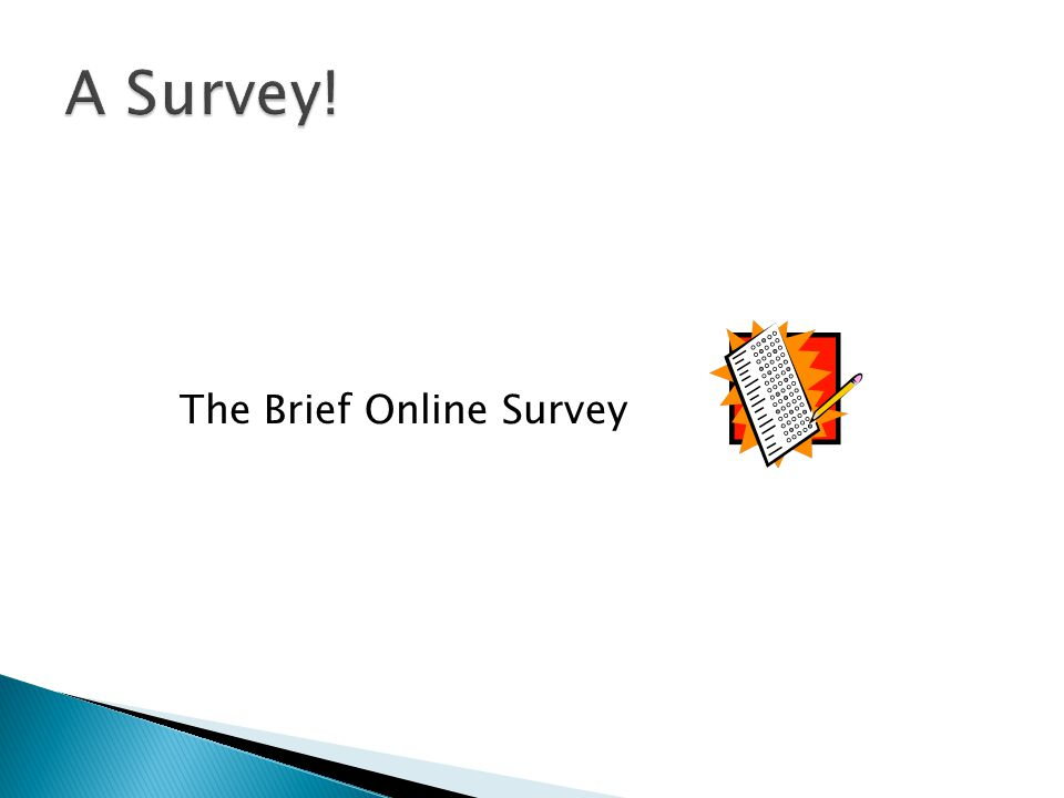 The Brief Online Survey