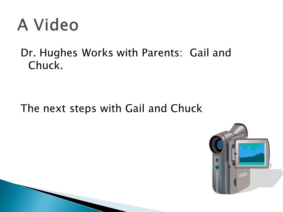 The next steps with Gail and Chuck
