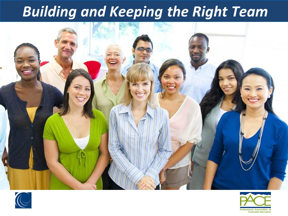 Building and Keeping the Right Team