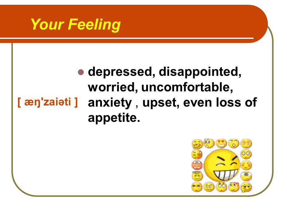 What is your feeling.