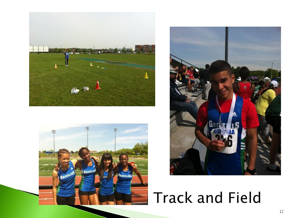 12 Track and Field