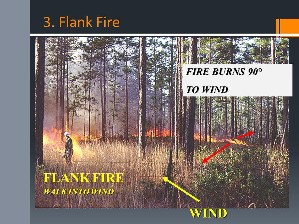 3. Flank Fire FLANK FIRE WIND WALK INTO WIND