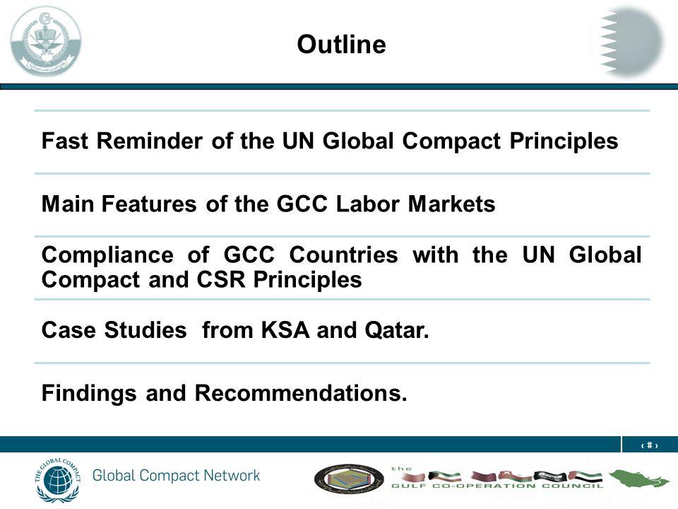 3 The UN Global Compact: The Ten Principles Principle 1- 2Principle Human Rights Principle 3- 6 Principle 3- 6 Labor Principle 7- 9 Environment Principle 10: Principle 10 Anti- Corruption