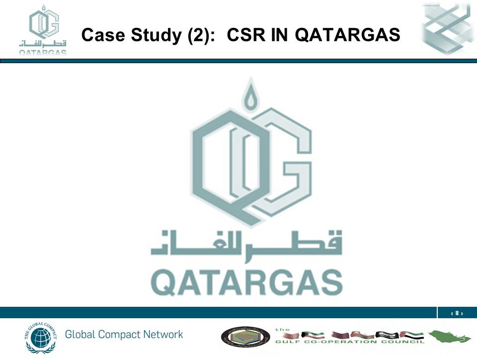 20 Case Study (2): CSR IN QATARGAS