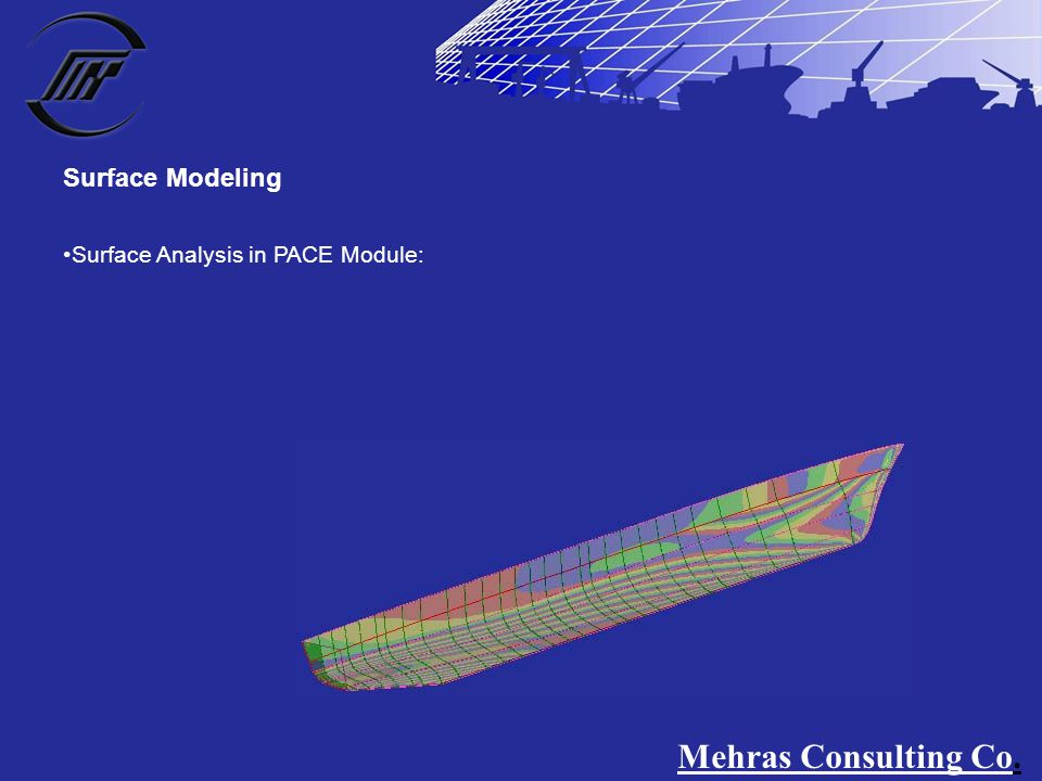 Surface Analysis in PACE Module: Surface Modeling Mehras Consulting Co.