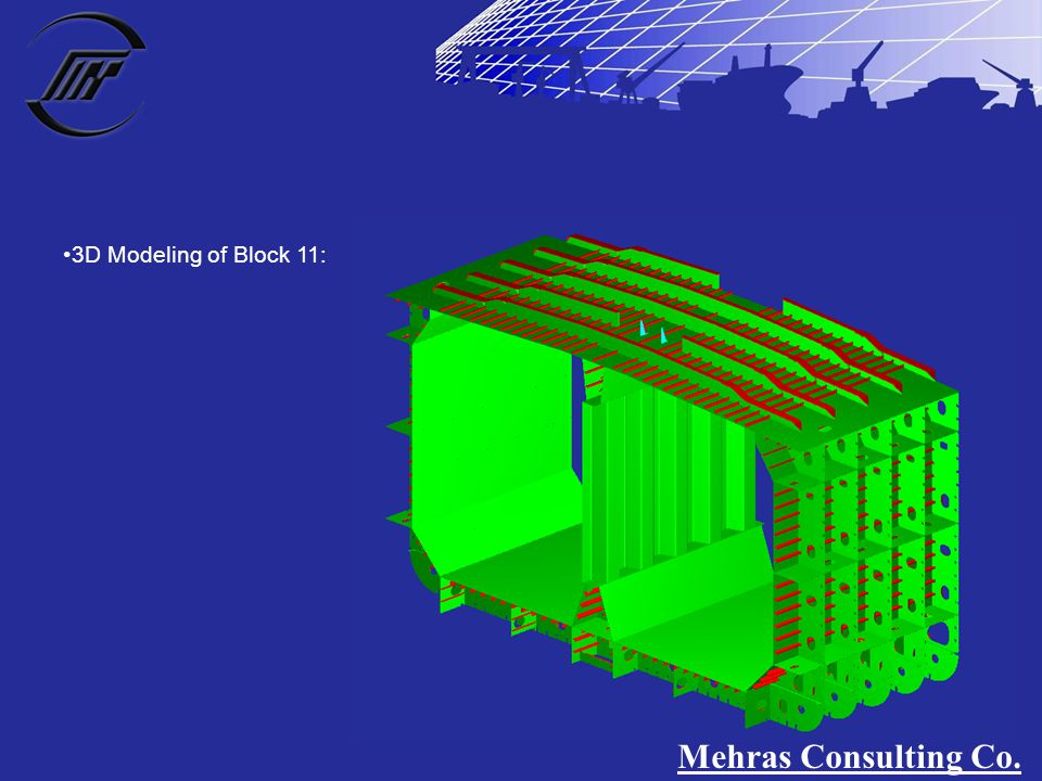 3D Modeling of Block 11: Mehras Consulting Co.