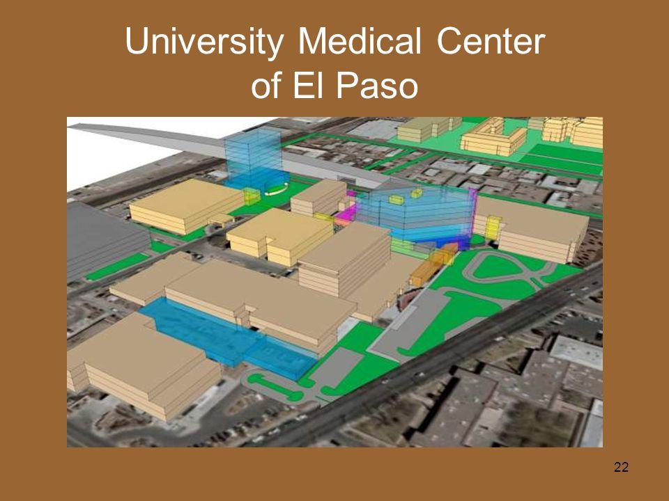 22 University Medical Center of El Paso