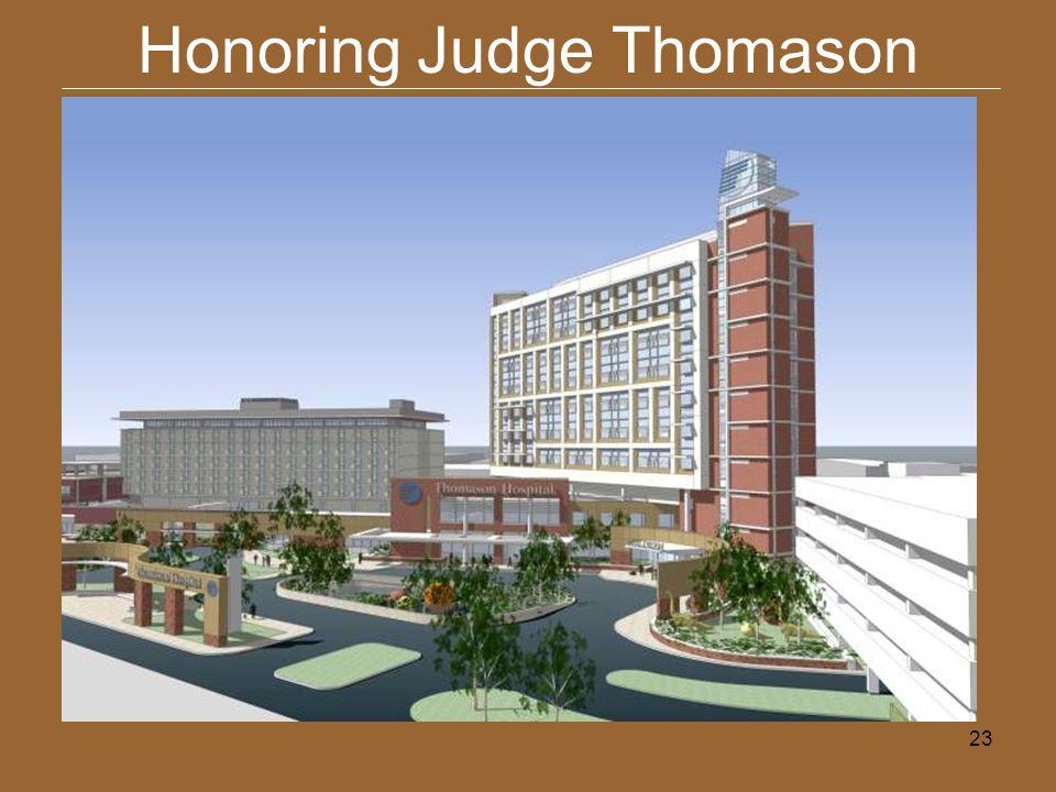 23 Honoring Judge Thomason