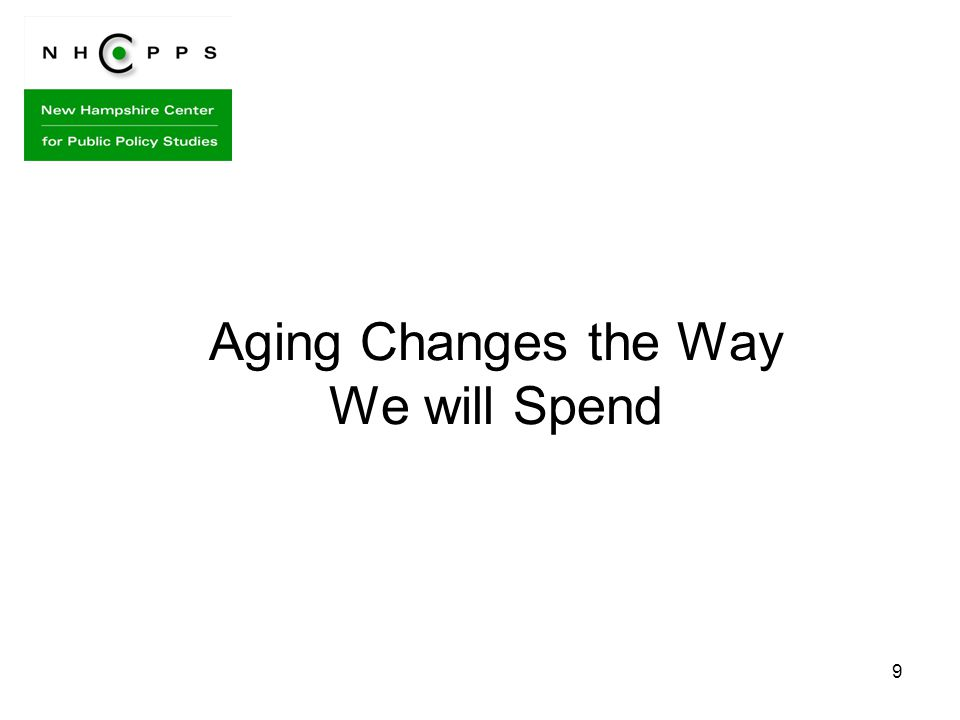 9 Aging Changes the Way We will Spend