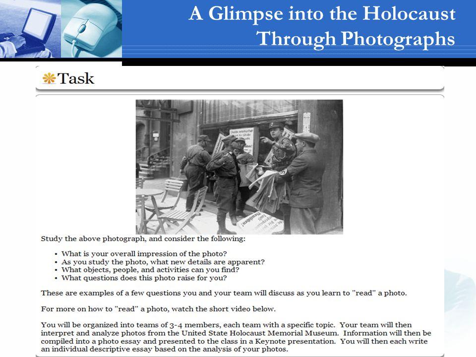 A Glimpse into the Holocaust Through Photographs