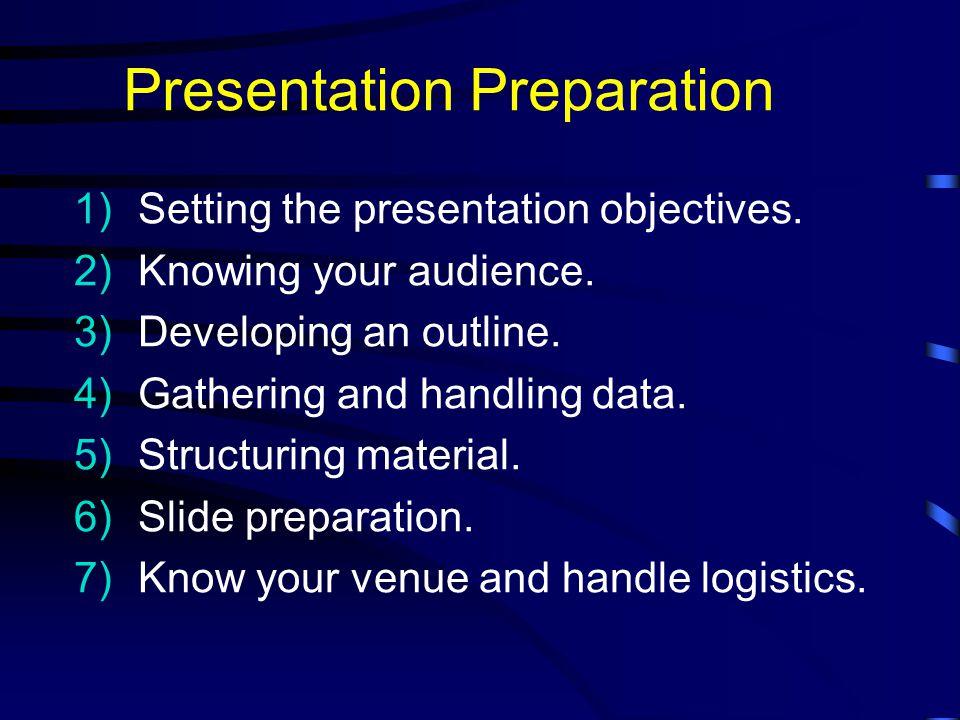 Preparation PresentationYourself