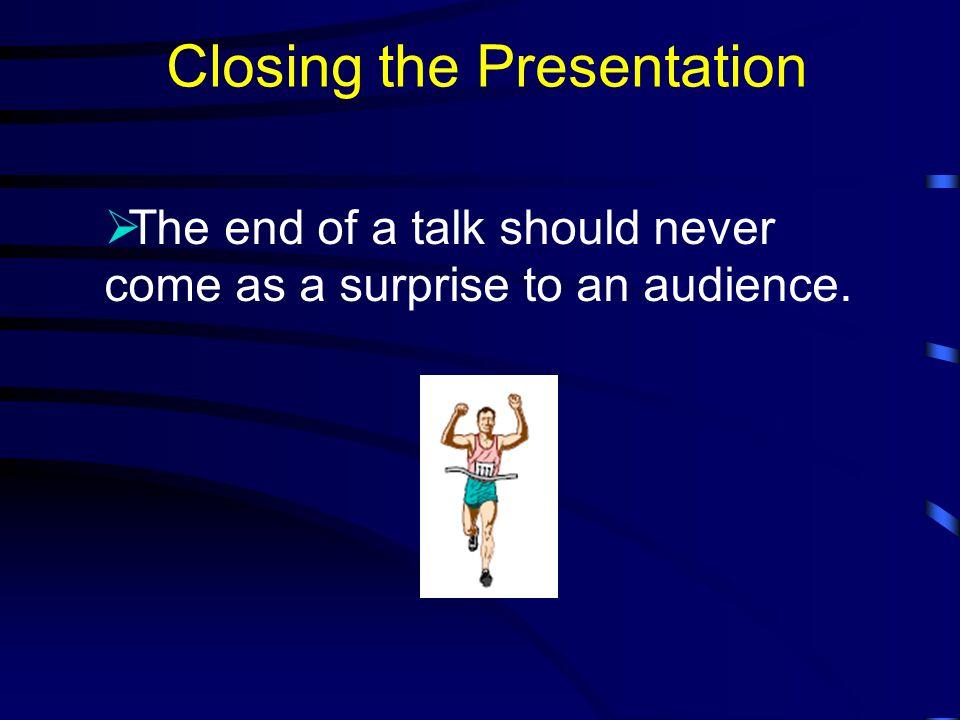 Visual Aids (cont.)  Visual Aids Should… Supplement presentation.