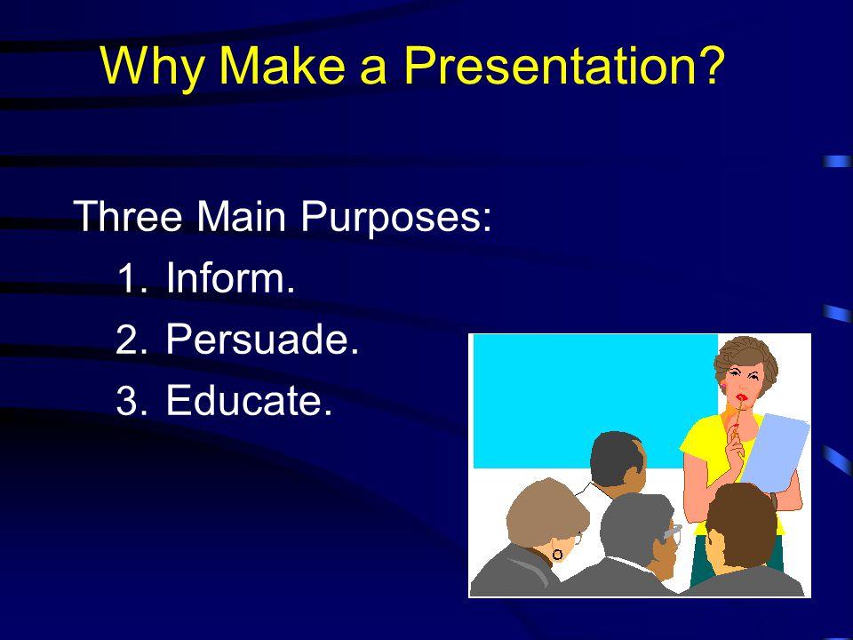 Why are presentation skills important.  Job hunting.
