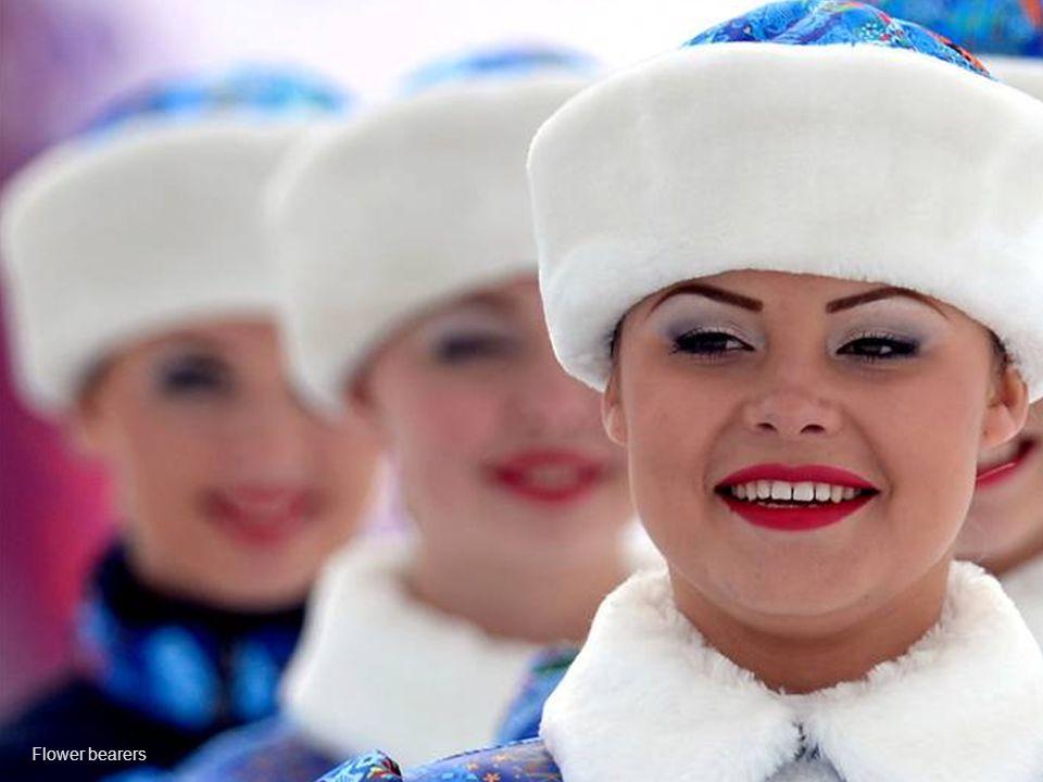 A Russian spectator