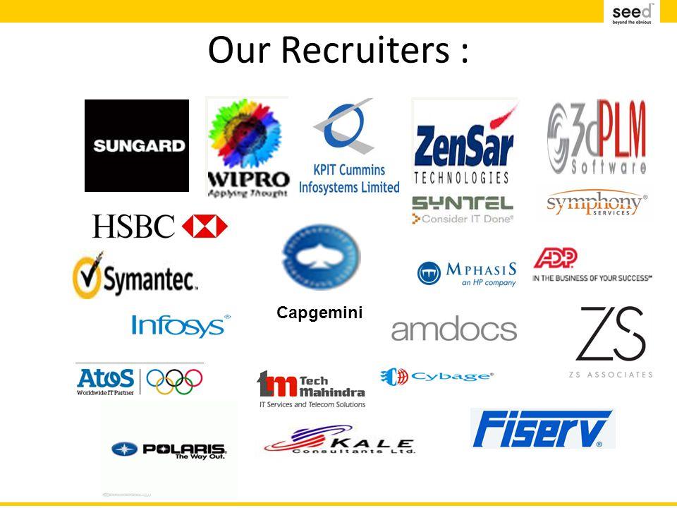 Our Recruiters : Capgemini