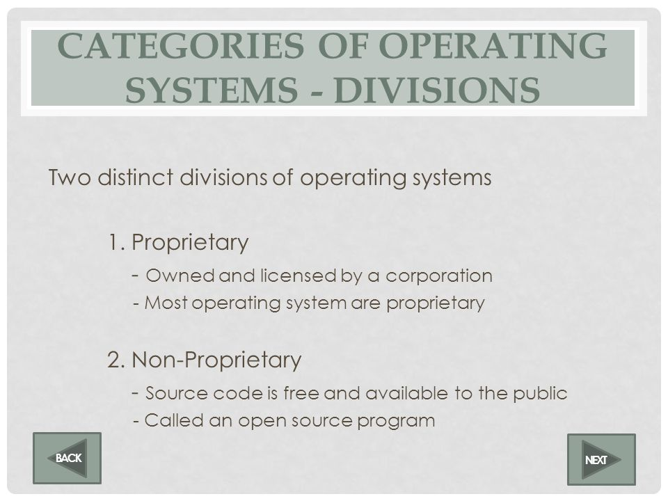 CATEGORIES OF OPERATING SYSTEMS - ENVIRONMENTS Three main environments of operating systems 1. Stand-alone operating system – Desktop 2. Networked ope