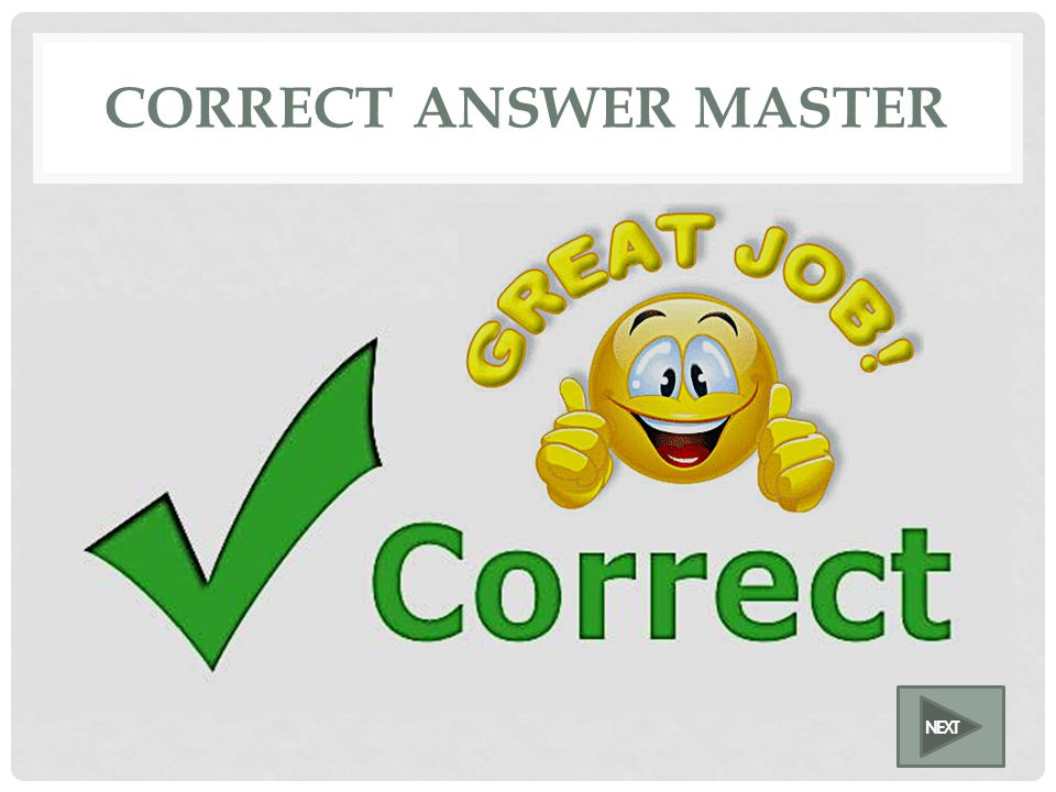 TRUE AND FALSE MASTER TrueFalse Put question here Click on the best answer