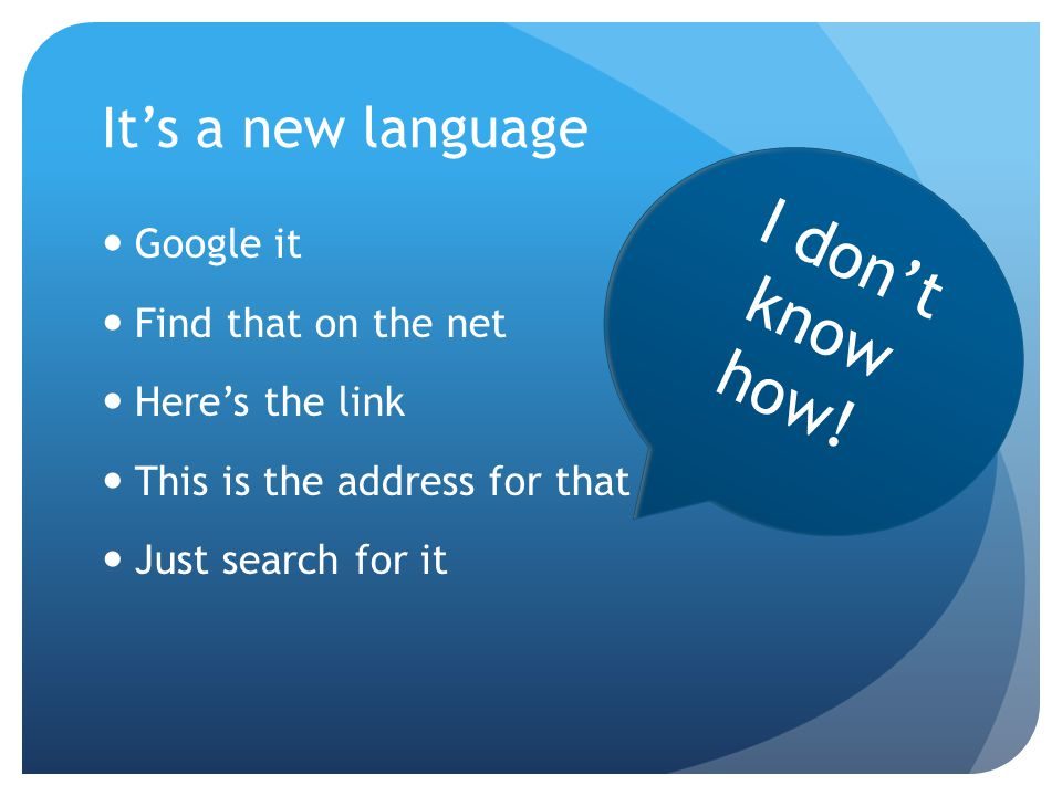 It's a new language Google it Find that on the net Here's the link This is the address for that Just search for it I don't know how!