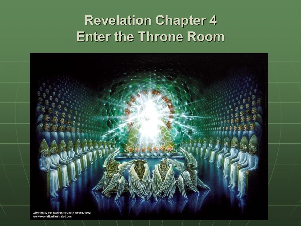 Revelation Chapter 4 Enter the Throne Room