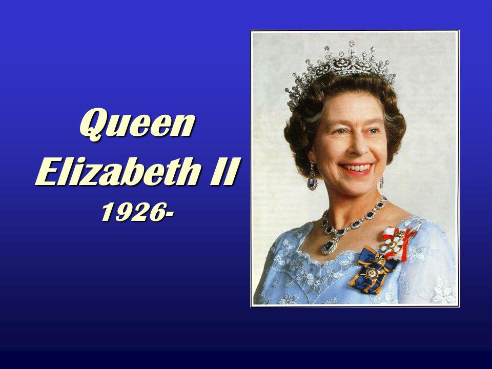 Queen Elizabeth II 1926-