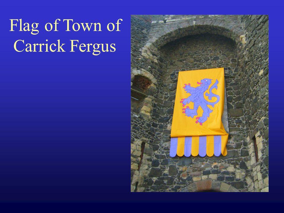 Flag of Town of Carrick Fergus