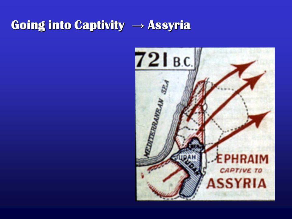 Going into Captivity → Assyria