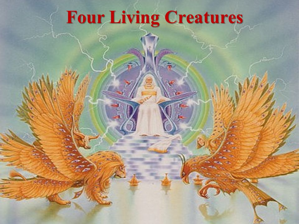 The Significance of the Four Living Creatures Similar to the Cherubim in Ezekiel 1 & 10:20 –In Scripture, Cherubim are consistently the guardians to the presence of God.