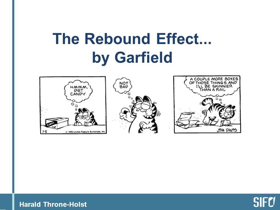 Harald Throne-Holst The Rebound Effect... by Garfield