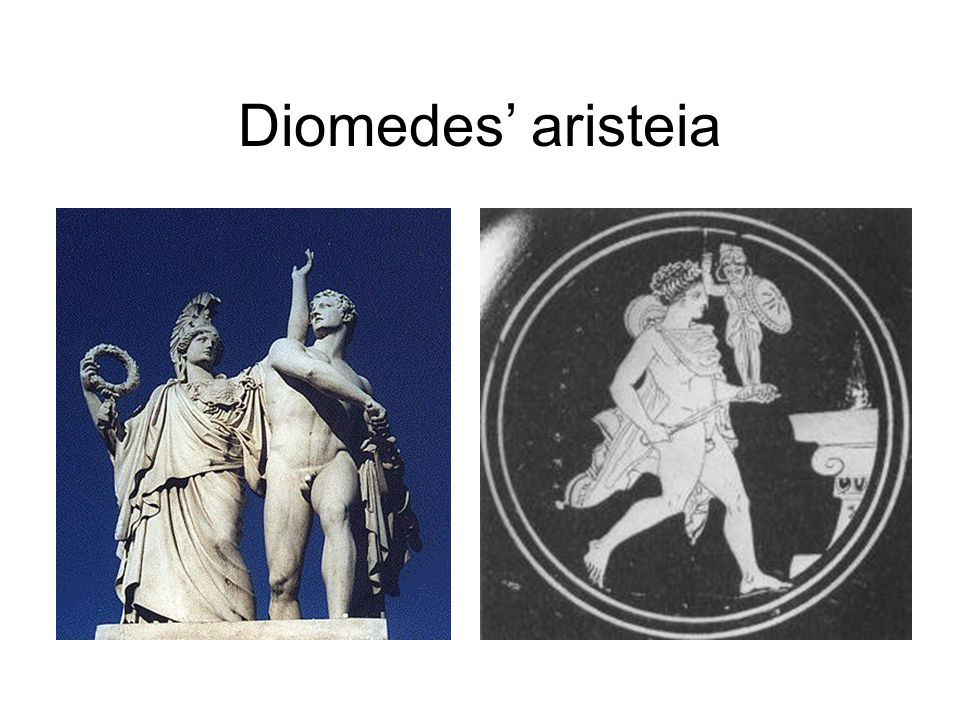 Diomedes' aristeia