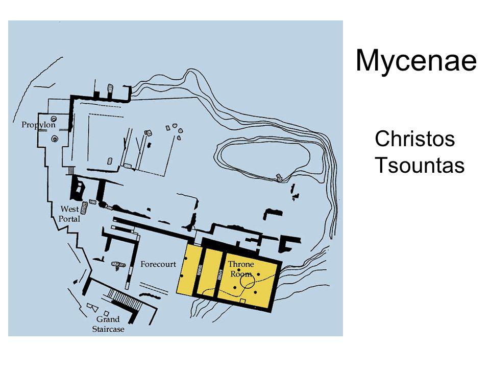 Mycenae Christos Tsountas