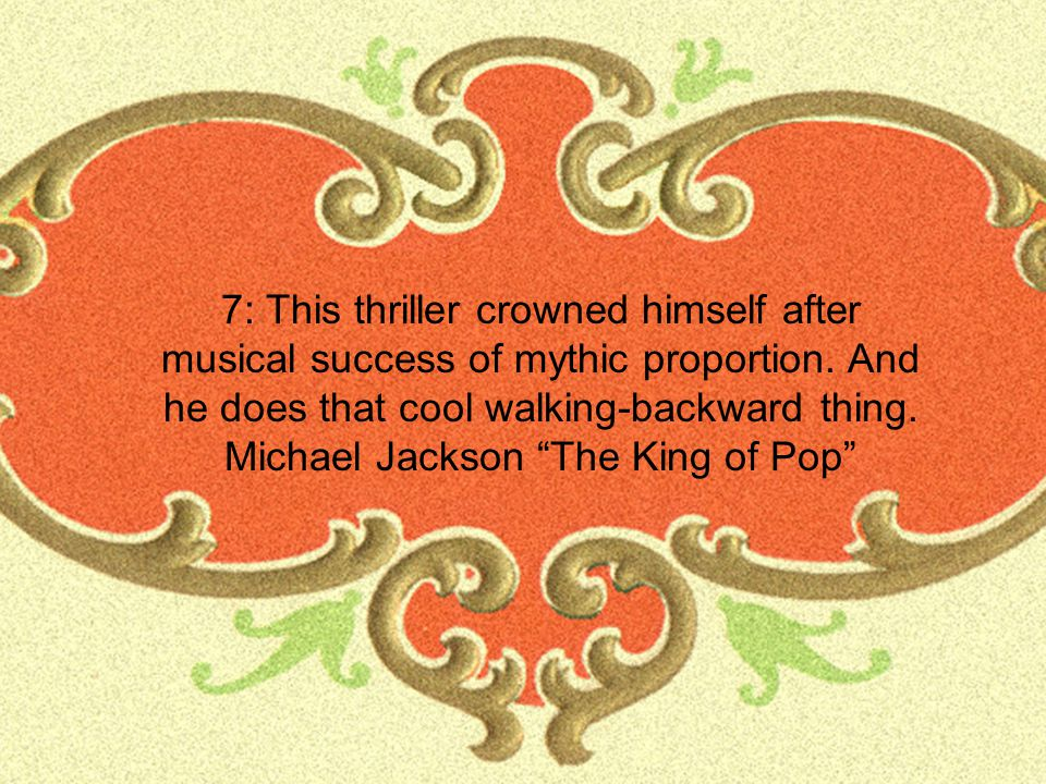 Michael Jackson The King of Pop