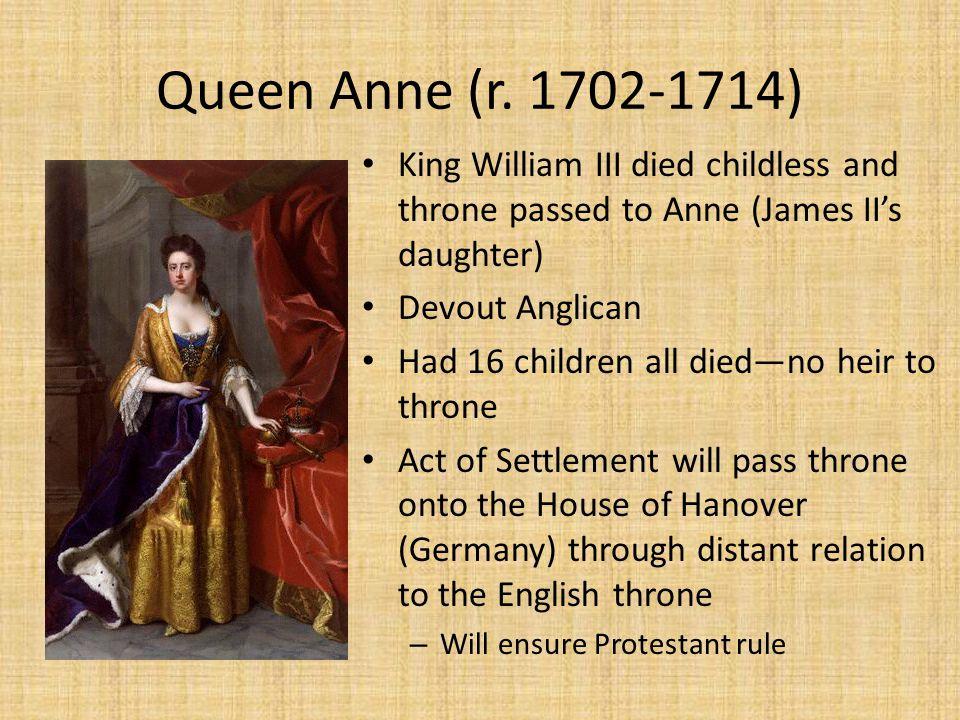 Queen Anne (r.