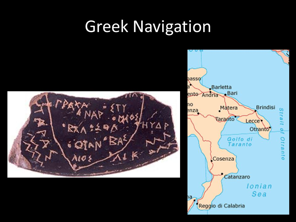 Greek Navigation